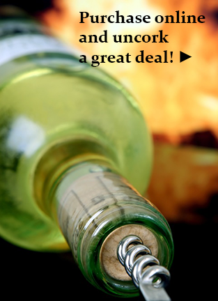 purchase online and uncork a great deal